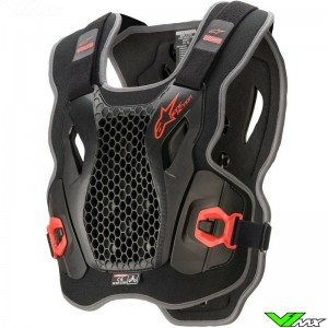 Alpinestars Bionic Action Bodyprotector - Zwart / Rood