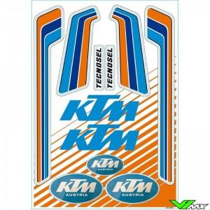 Tecnosel Stickervel - KTM Vintage 50 x 35 cm