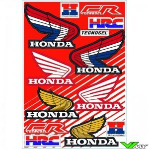 Tecnosel Stickervel - Honda Vintage 50 x 35 cm
