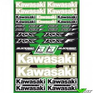 Blackbird Decal Sheet - Kawasaki 50 x 35 cm