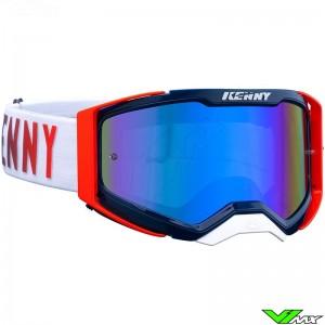 Kenny Performance Level 2 Crossbril - Blauw / Rood
