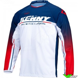 Kenny Track Focus 2022 Motocross Jersey - Patriot