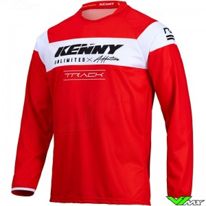 Kenny Track Raw 2022 Motocross Jersey - Red