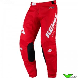 Kenny Track Raw 2022 Motocross Pants - Red