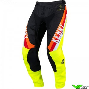 Kenny Track Force 2022 Motocross Pants - Fluo Yellow
