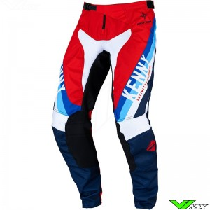 Kenny Track Force 2022 Motocross Pants - Red / Navy