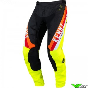 Kenny Track Force 2022 Youth Motocross Pants - Fluo Yellow