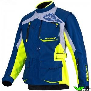 Kenny Titanium 2022 Enduro Jacket - Navy / Fluo Yellow