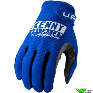 Kenny Up 2022 Motocross Gloves - Blue