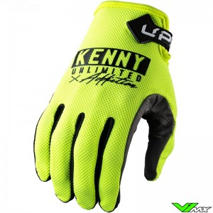 Kenny Up 2022 Motocross Gloves - Fluo Yellow
