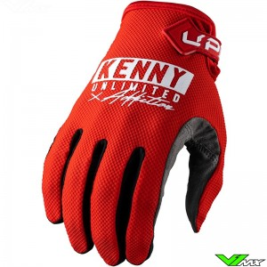 Kenny Up 2022 Motocross Gloves - Red