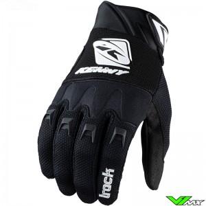 Kenny Track 2022 Motocross Gloves - Black