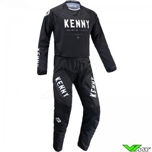 Kenny Track Force 2022 Motocross Gear Combo - Black