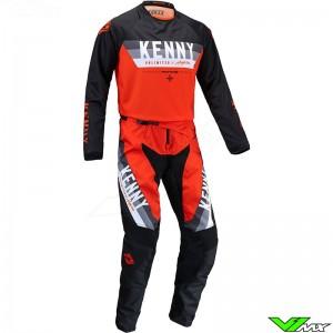 Kenny Track Force 2022 Motocross Gear Combo - Orange