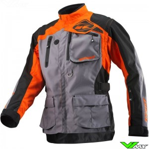 Kenny Titanium 2021 Enduro Jacket - Grey / Orange (M)