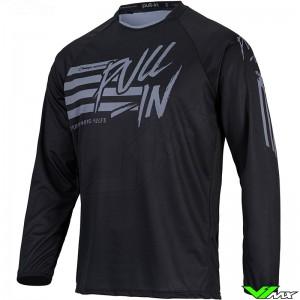 Pull In Challenger Original 2022 Cross shirt - Stripes / Zwart / Grijs