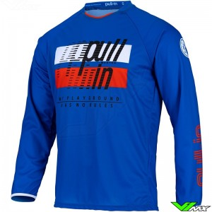 Pull In Challenger Master 2022 Youth Motocross Jersey - Blue / Orange