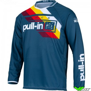 Pull In Challenger Race 2022 Youth Motocross Jersey - Petrol