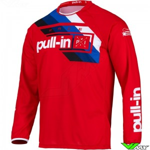 Pull In Challenger Race 2022 Youth Motocross Jersey - Red
