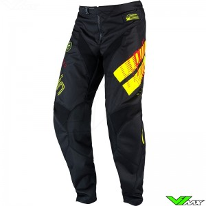 Pull In Challenger Master 2022 Youth Motocross Pants - Black / Fluo Yellow