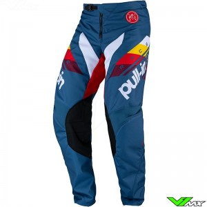 Pull In Challenger Race 2022 Youth Motocross Pants - Petrol