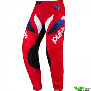 Pull In Challenger Race 2022 Youth Motocross Pants - Red