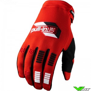 Pull In Challenger 2022 Youth Motocross Gloves - Red