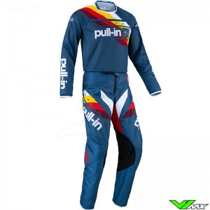 Pull In Challenger Race 2022 Youth Motocross Gear Combo - Petrol