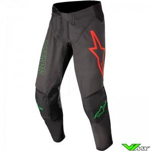 Alpinestars Techstar Phantom 2022 Motocross Pants - Black / Green / Red