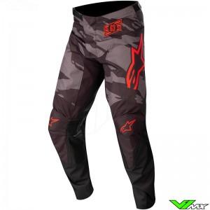 Alpinestars Racer Tactical 2022 Motocross Pants - Black / Fluo Red / Camo