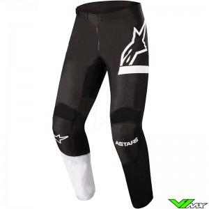 Alpinestars Fluid Chaser 2022 Motocross Pants - Black / White