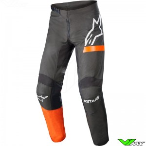 Alpinestars Fluid Chaser 2022 Motocross Pants - Anthracite / Coral