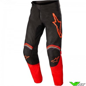Alpinestars Fluid Speed 2022 Motocross Pants - Black / Bright Red