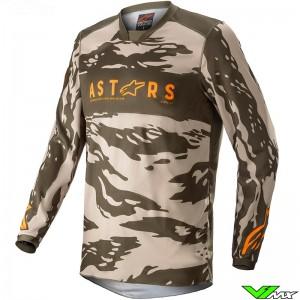 Alpinestars Racer Tactical 2022 Cross shirt - Zand / Camo