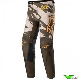 Alpinestars Racer Tactical 2022 Youth Motocross Pants - Sand / Camo