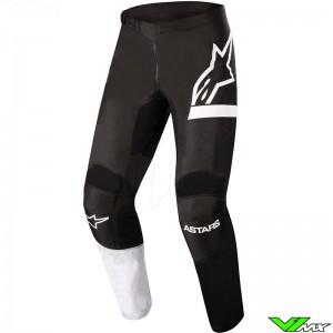 Alpinestars Racer Chaser 2022 Youth Motocross Pants - Black / White