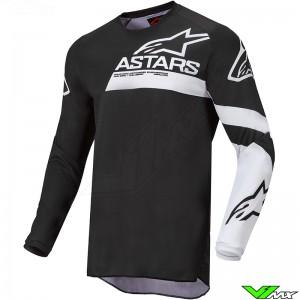 Alpinestars Racer Chaser 2022 Youth Motocross Jersey - Black / White