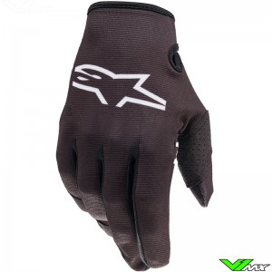 Alpinestars Radar 2022 Youth Motocross Gloves - Black