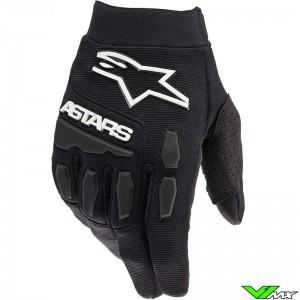 Alpinestars Full Bore 2022 Youth Motocross Gloves - Black