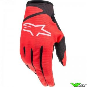 Alpinestars Radar 2022 Motocross Gloves - Bright Red