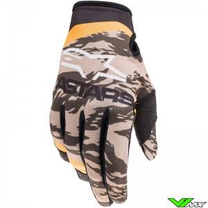 Alpinestars Radar 2022 Motocross Gloves - Sand / Camo