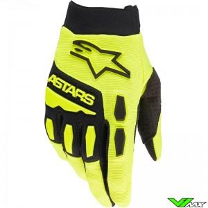 Alpinestars Full Bore 2022 Motocross Gloves - Fluo Yellow