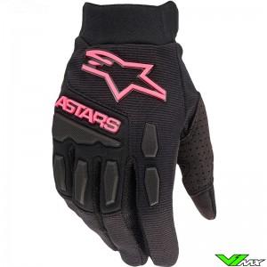 Alpinestars Full Bore Stella 2022 Women Motocross Gloves - Fluo Pink