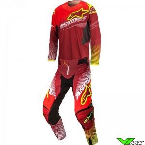 Alpinestars Techstar Factory Gear Combo Red / Fluo Yellow (30/S)