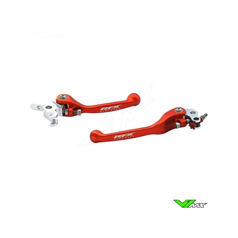 RFX Flexible clutch and brake lever set - KTM 85SX