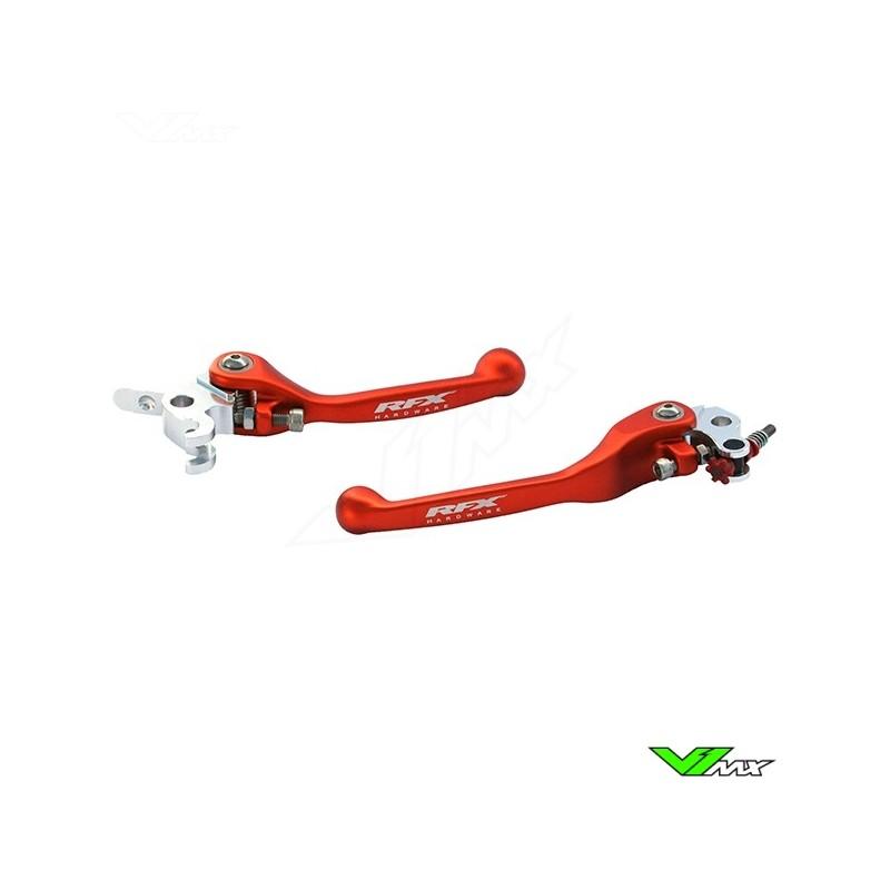 RFX Flexible clutch and brake lever set - KTM 85SX