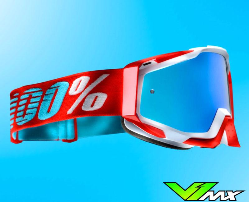 100% Racecraft mx goggles