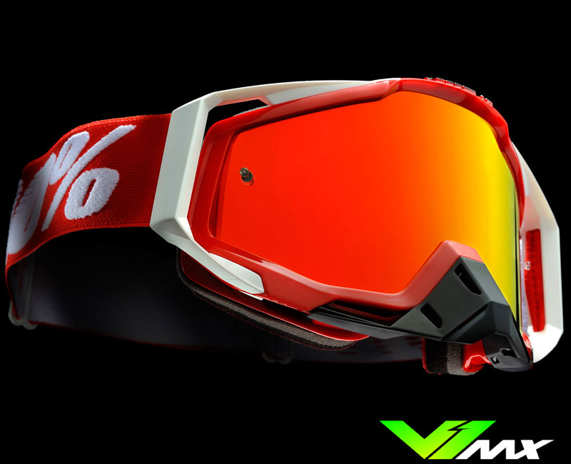 100% Racecraft mx goggles