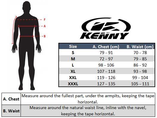 Kenny Track Enduro Jacket - Raw / Black